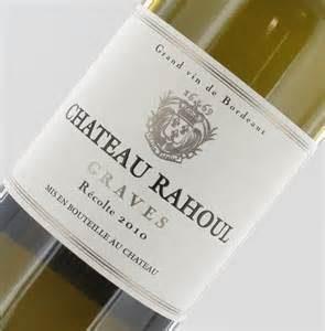 Château Rahoul,2010/blanc