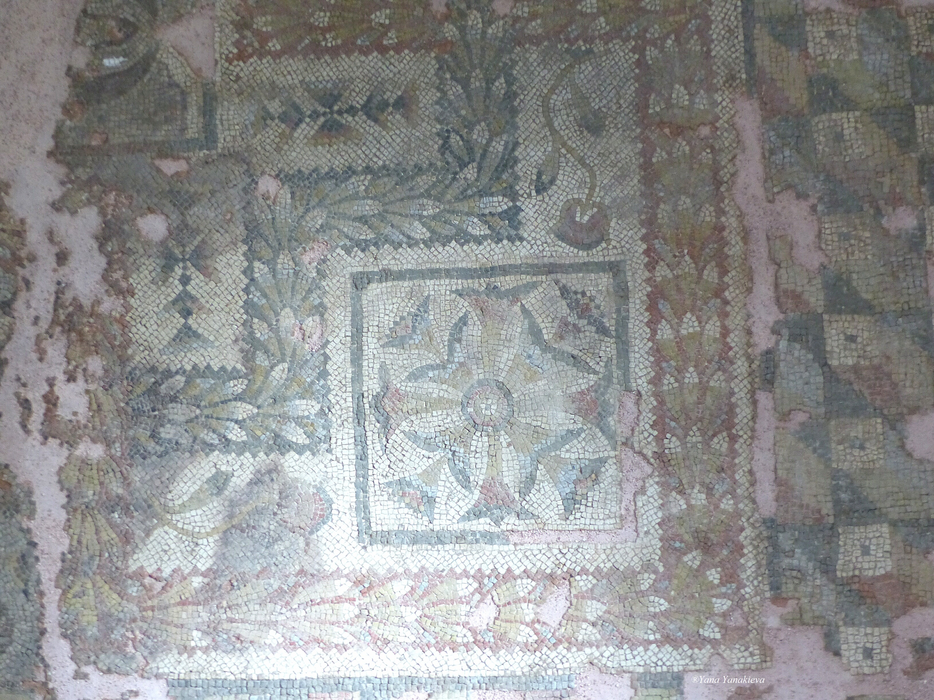 "The mosaic called ""To the Swastikas"""